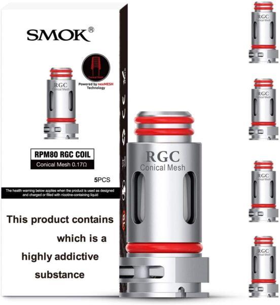 Smok RPM80 RGC Coil Conical Mesh 0.17ohm