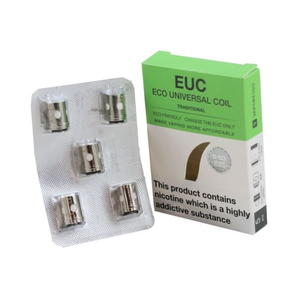 Vaporesso EUC Eco Universal Coil Traditional (5pack) - 0.5ohm