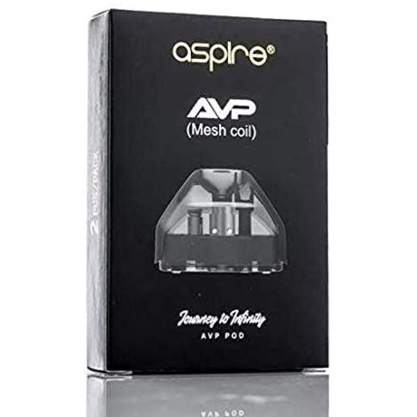 Aspire AVP Pod (Mesh Coil 0.6ohm) 2 pack
