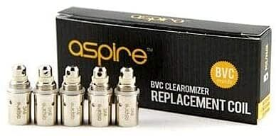 Aspire BVC Replacement Coil 1.8ohm 5 Pack