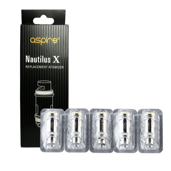 Aspire Nautilus X Replacement Coils - 1.8