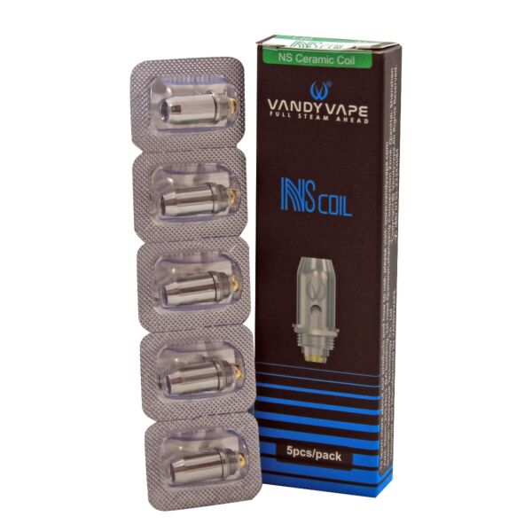Vandy Vape NS Coils Ceramic A1 (5Pack) - 1.2ohm