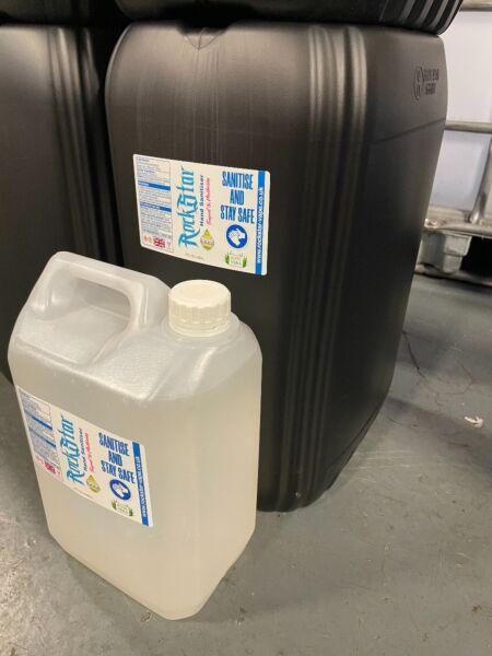 Rockstar Aloe Vera Anti-Bacterial Ethanol Hand Sanitiser 25000ml