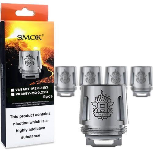 Smok TFV8 V8 Baby M2 Coils (5pack) - 0.15ohms