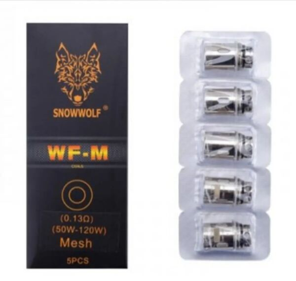 SnowWolf WF-M Coils 5 Pack