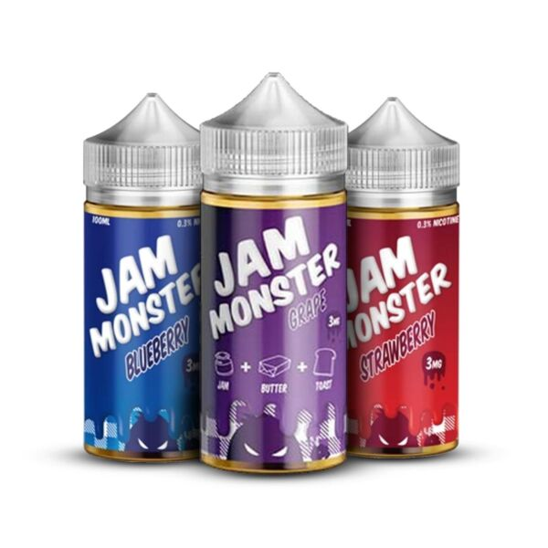 The Jam Vape Co. 100ml
