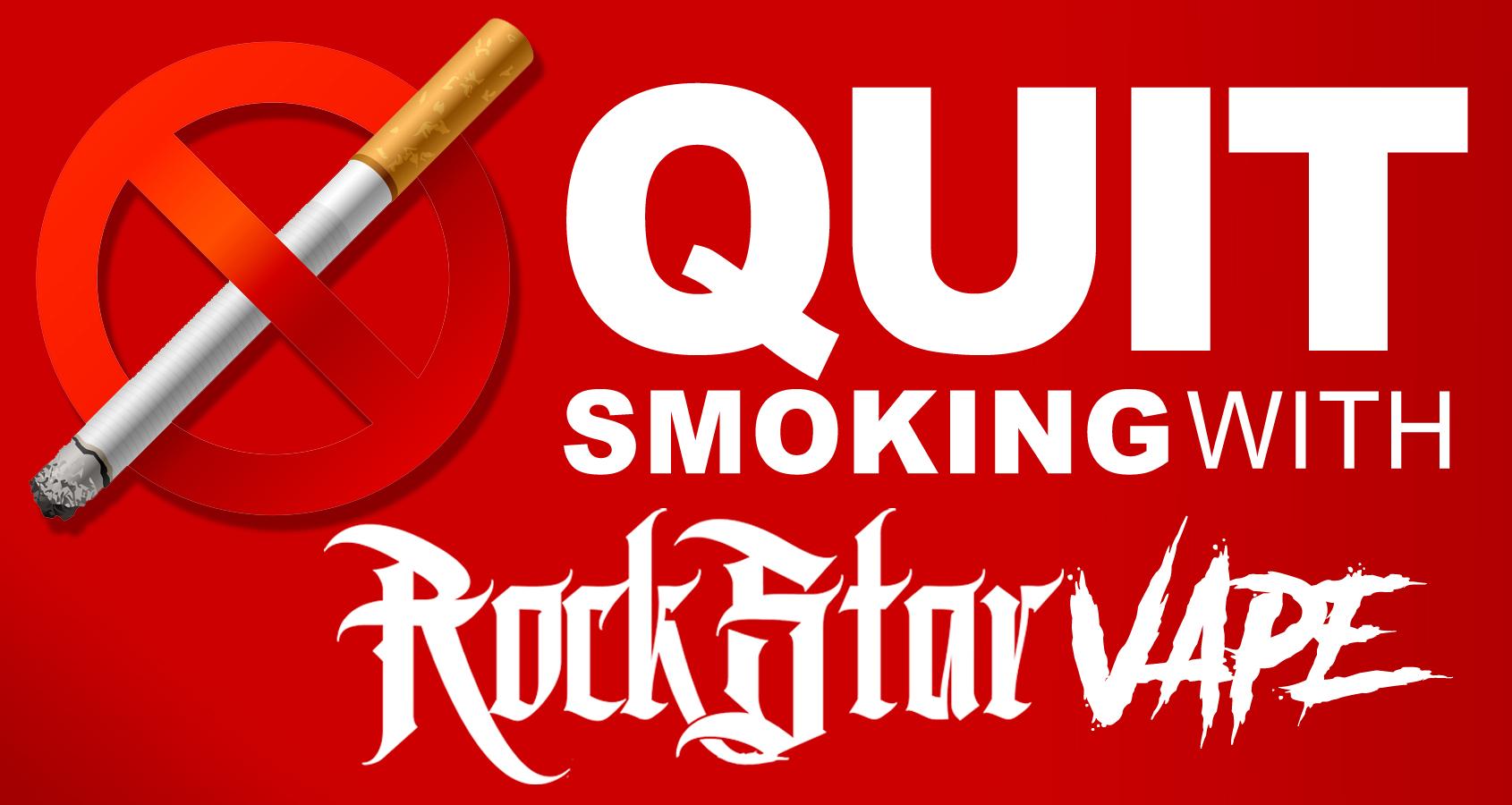 Stop Smoking With Rockstar Vape